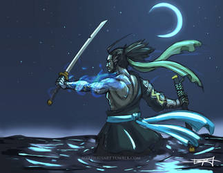 Hanzo - Redemption by MareniusArt