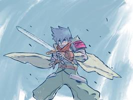 Ryu Sketch (Breath of Fire 3)