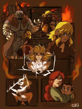Troll Attack - Comic page