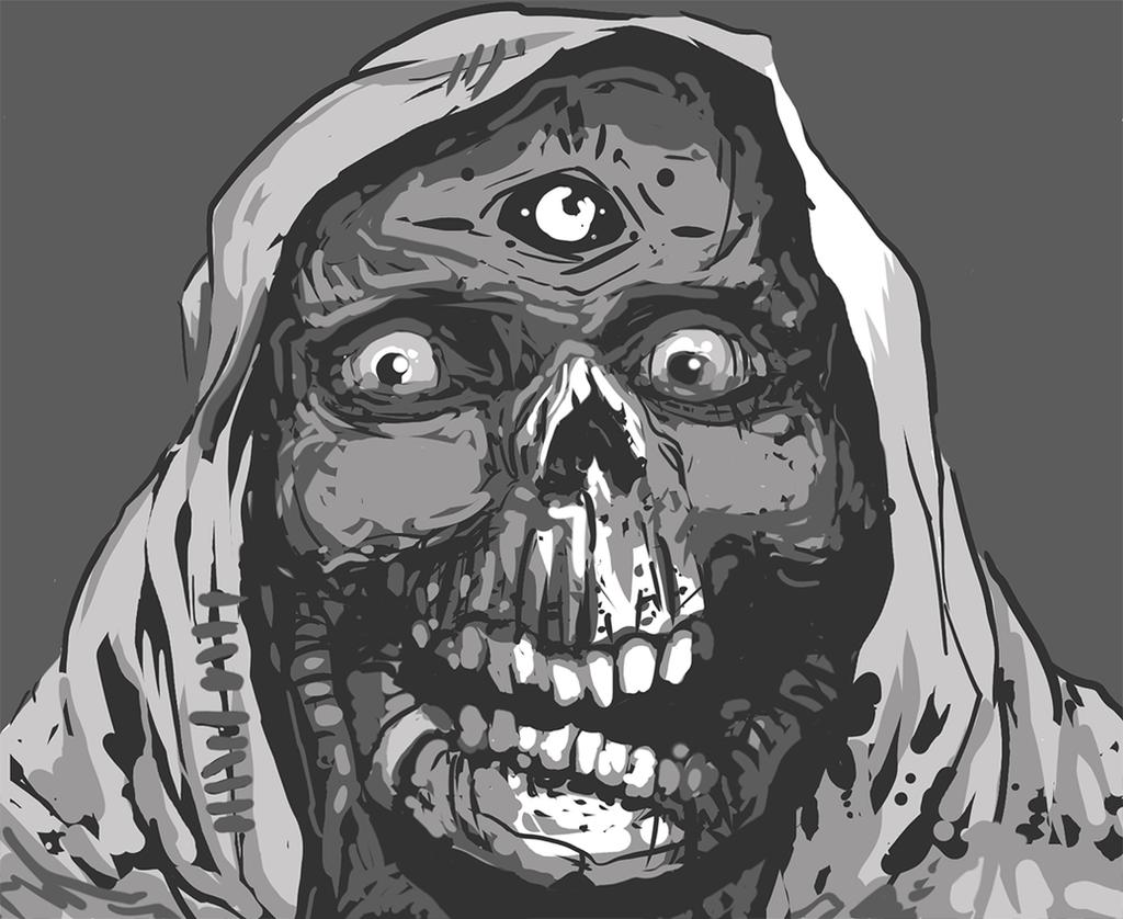 Third Eye Skull by Tsanders