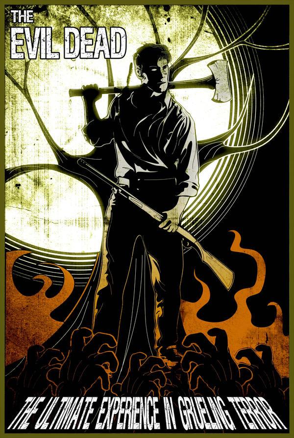 The Evil Dead - Fan Poster by Dustin85