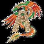 Aztec Art Dragon