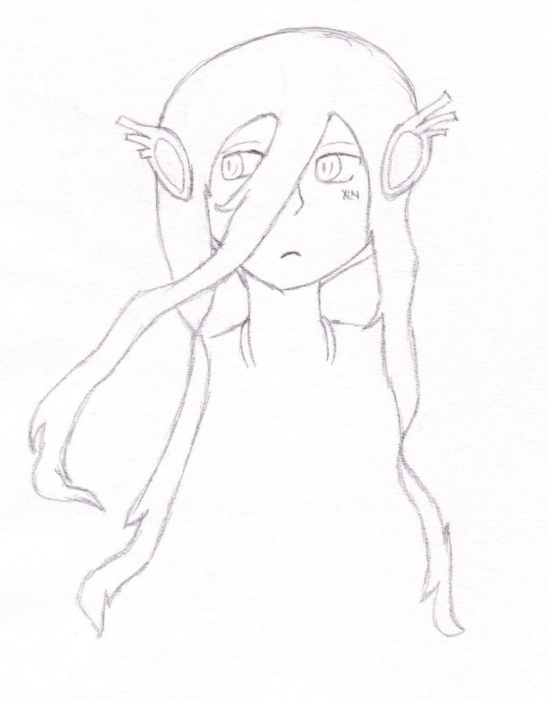 Desperate4Friends Character Art Rough Sketch by smartangel10
