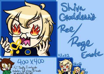 Shiva_Goddess Ree/Rage by VocaloidNova