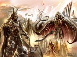 BurningSand army by LordHannu