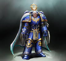 Ultramarine champion by LordHannu