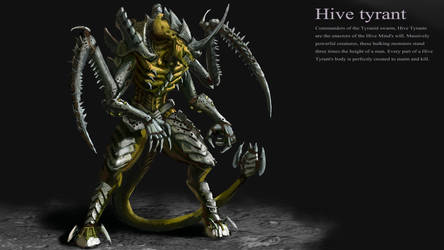 Tyranid Hive Tyrant by LordHannu