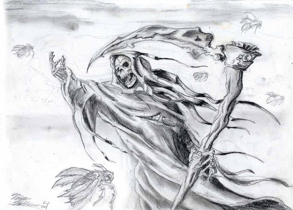 grimreaper sorrow by LordHannu on DeviantArt