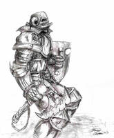 Worrior in fair by LordHannu