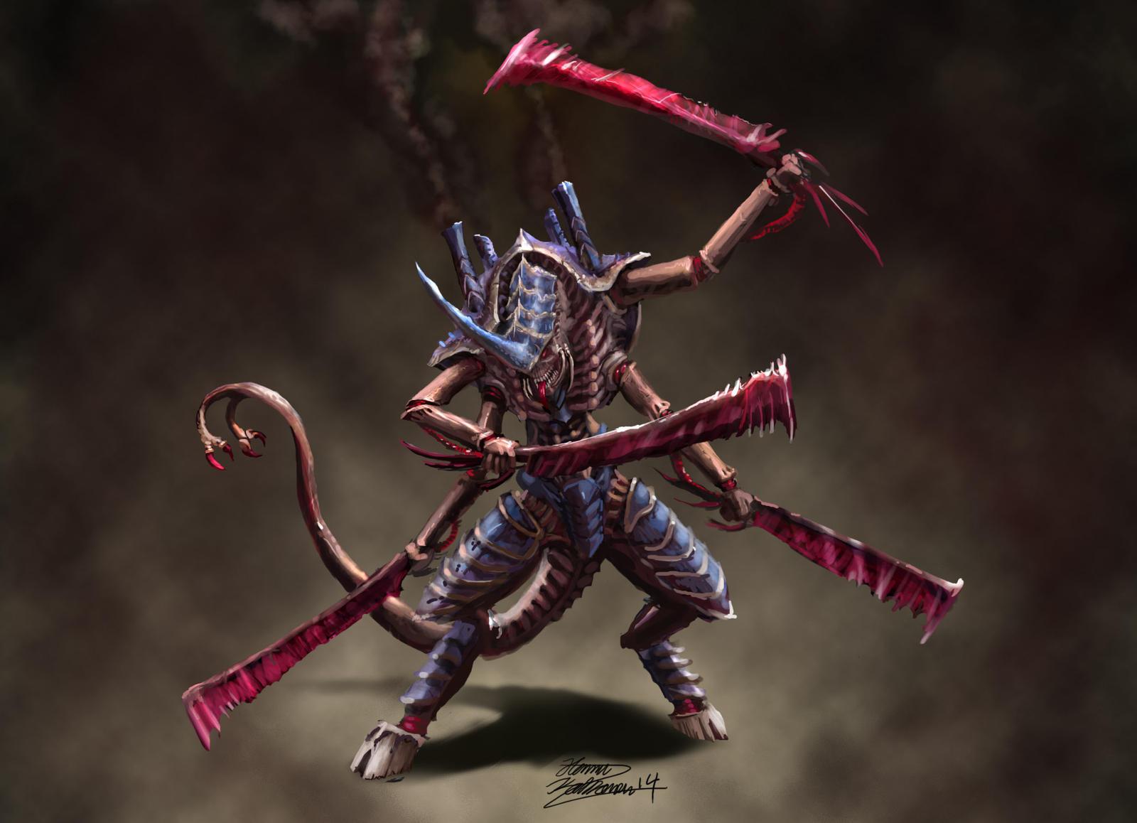Warhammer 40k Hive Tyrant By Yorikasudon Deviantart – Fondos de Pantalla