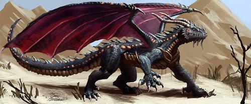 Dragon from the desert
