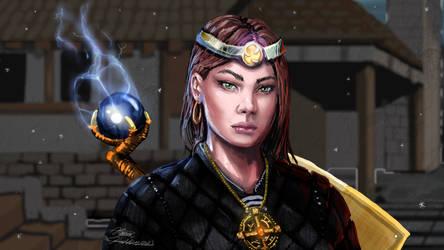 Lightning Sorceress