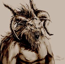 Beastman by LordHannu