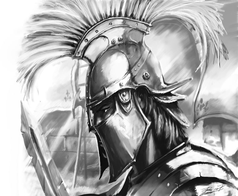 rome warrior by LordHannu