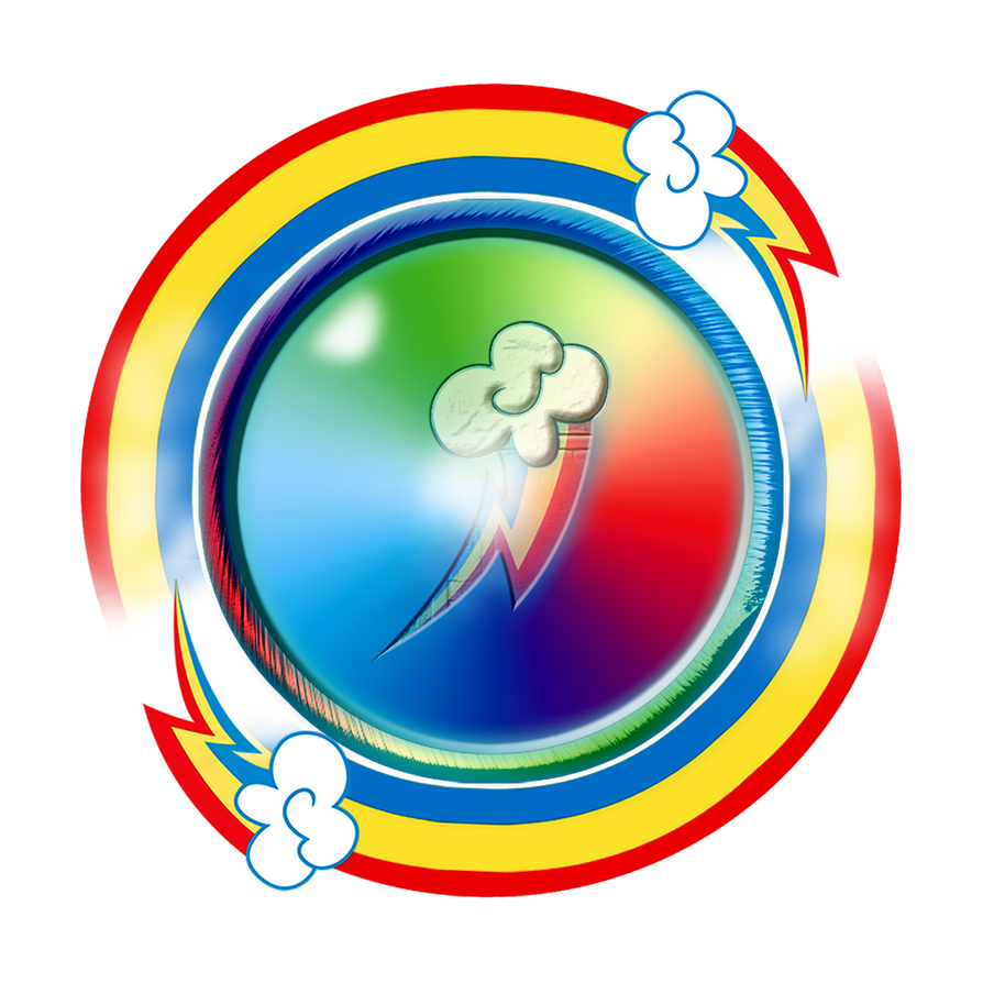 Rainbow Dash Emblem by Kage-Kaldaka