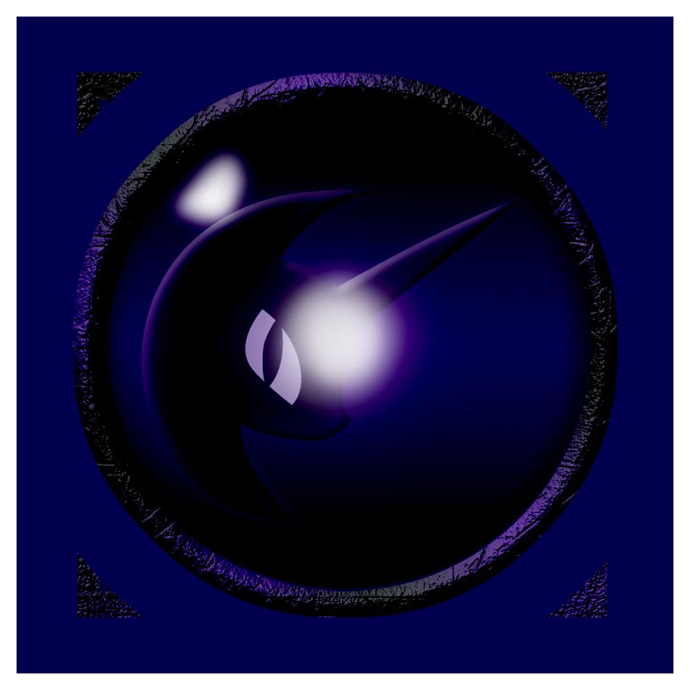 Nightmare Moon Emblem by Kage-Kaldaka