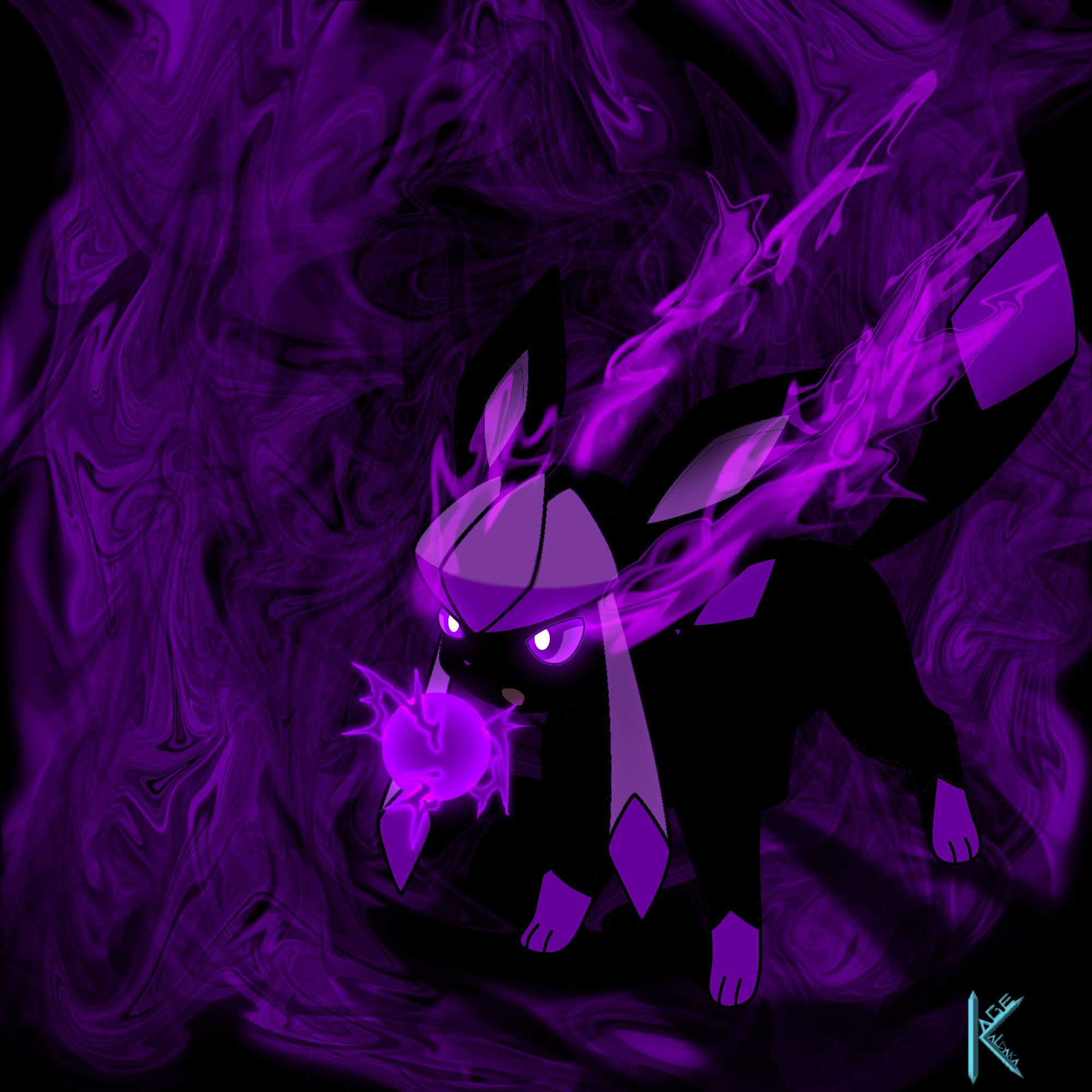 Kage Kaldaka (The Character) as a Glaceon by Kage-Kaldaka