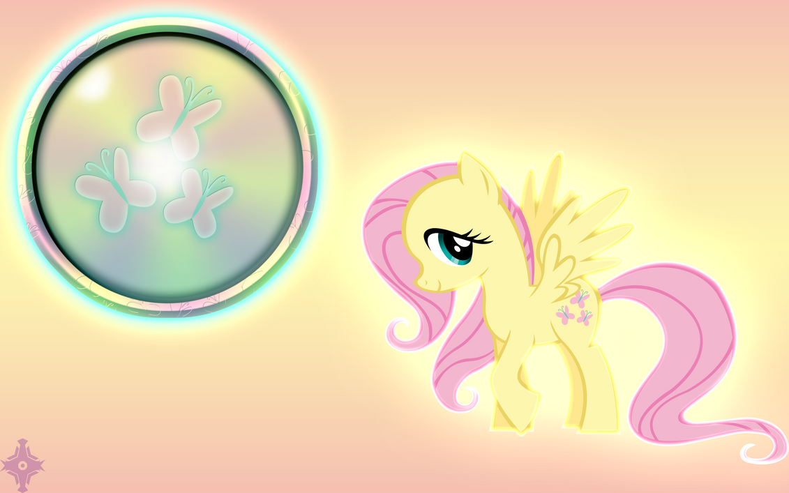 Fluttershy Wallpaper by Kage-Kaldaka