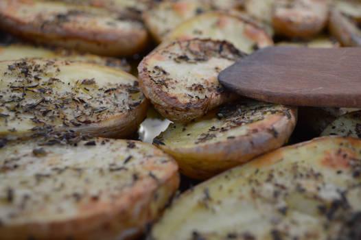 Yummy baked potatoes! :)