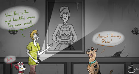 Scooby dooby Mystery - Distracted