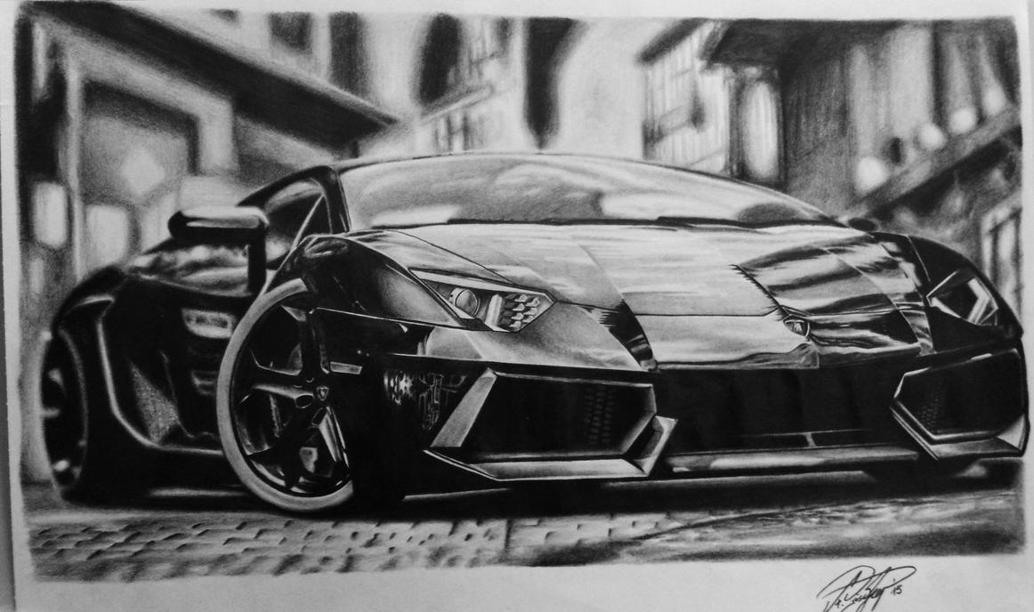 Lamborghini Aventador by Blaze88