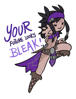 Smite - Your Future Looks Bleak (Chibi) by Zennore