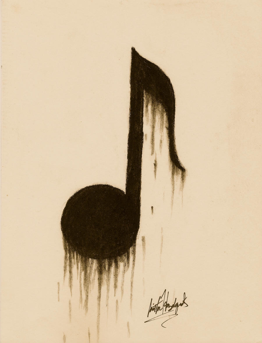 Eighth Note Tattoo Eighth Note by Arboris-