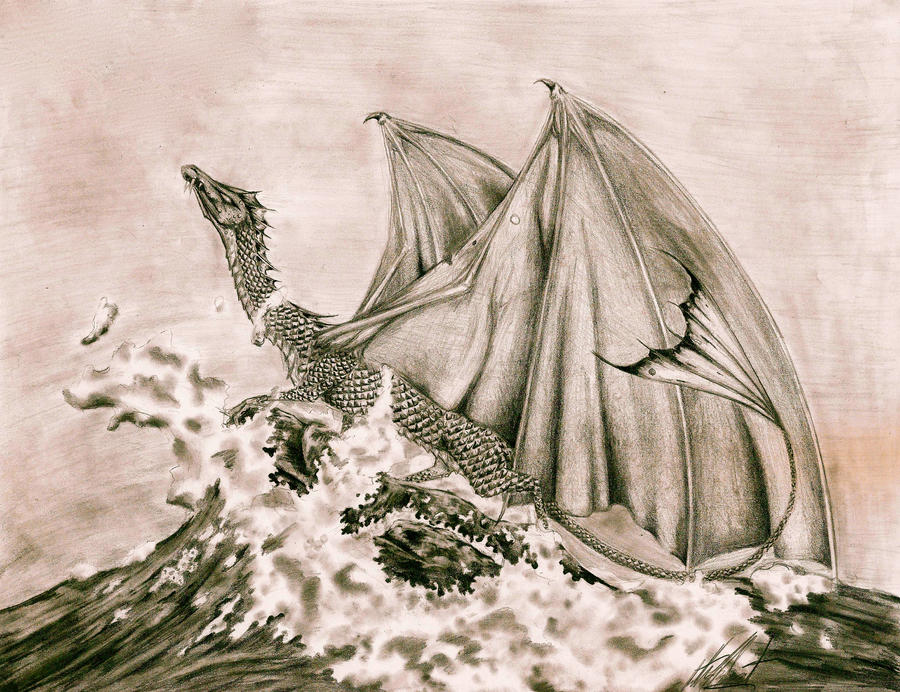 Sea Dragon by Arboris-Silvestre