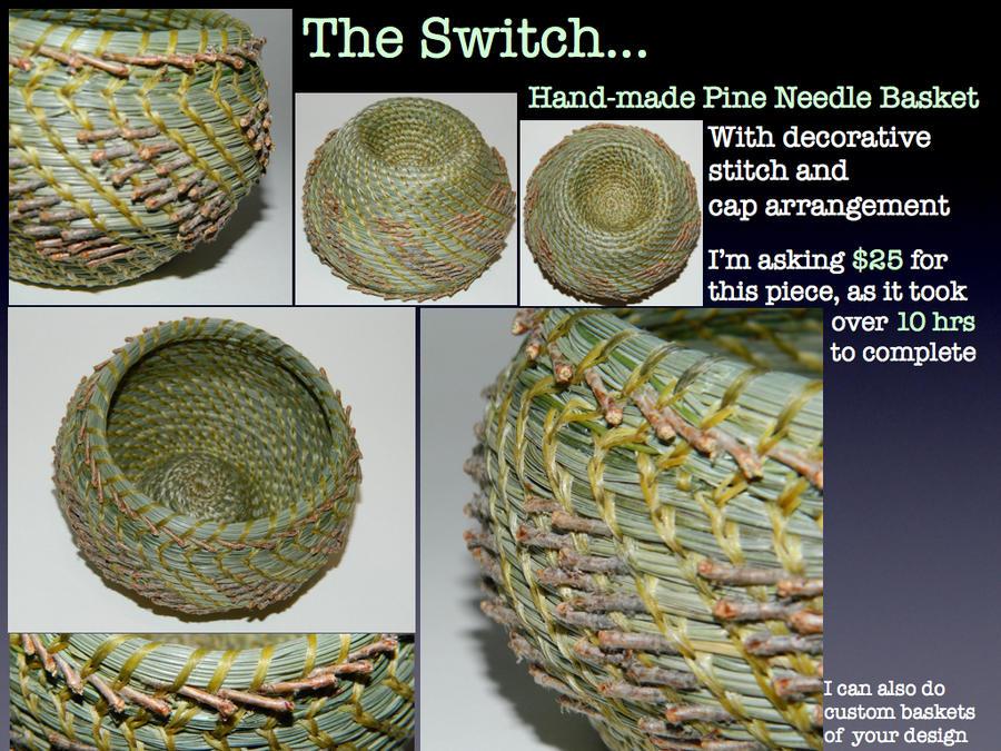 Pine Needle Basket by Arboris-Silvestre