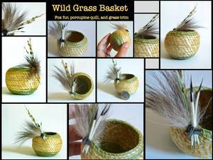 Mountain Grass Basket