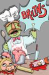 Zombie Swedish Chef