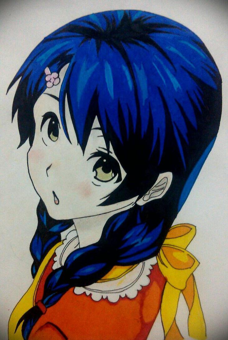 Megumi from Shokugeki no soma by CruschKofLugnica