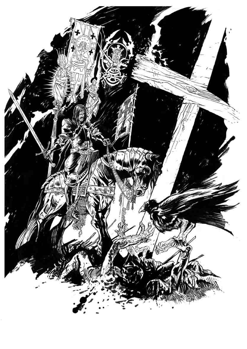Crusader's fate by lionelmarty