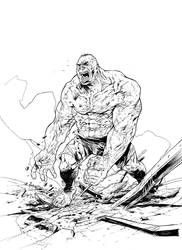 The Hulk by lionelmarty