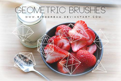 Geometric brushes.