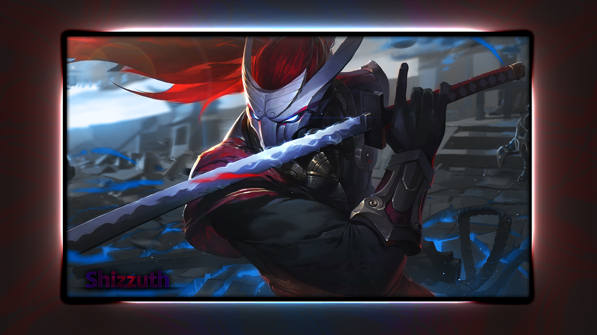 Lol Yasuo Wallpaper Hd By Shizzuth On Deviantart