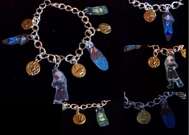 Avatar Charm Bracelet by Anime-Bling