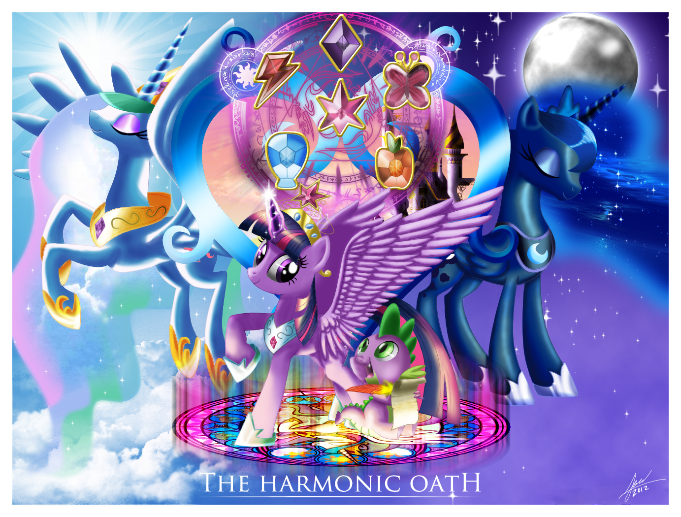 Harmonic Oath by zelc-face