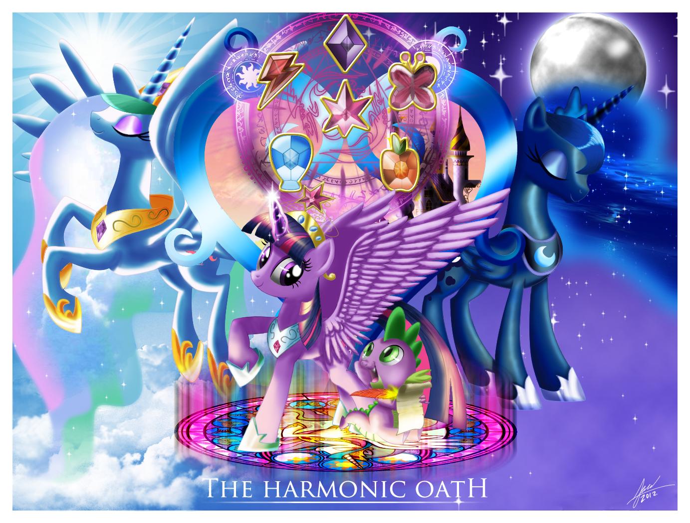 Harmonic Oath by zelc-face