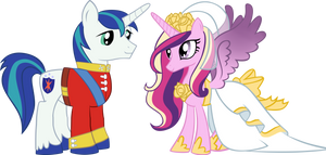 Cadence and Shining Armor
