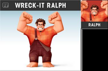 Smashified Fan Art - Wreck-it Ralph by zelc-face