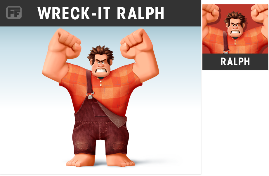Smashified Fan Art - Wreck-it Ralph by zelc-face