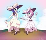 Skipping Sisters