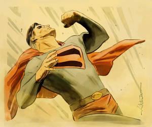 Superman by dismang