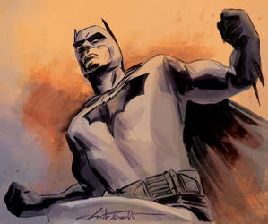 Batman by dismang