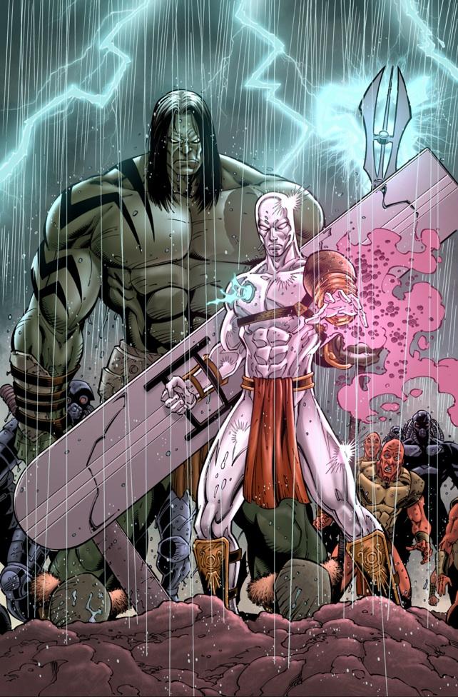 Skaar Son of Hulk-8 by dismang