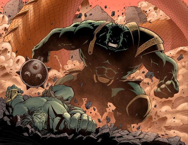 Skaar Son of Hulk-8. by dismang