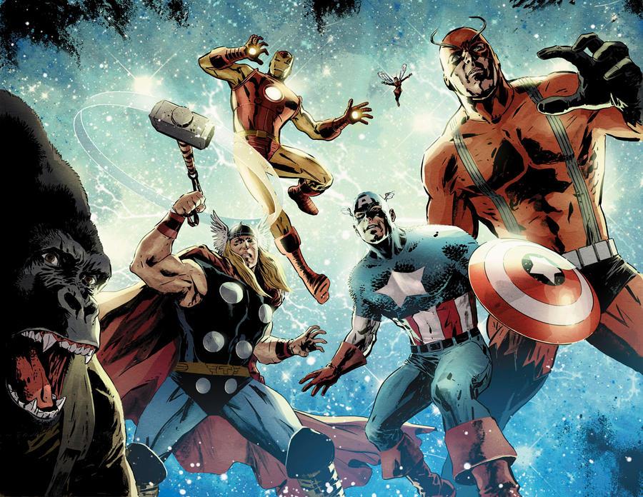 Avengers vs. Atlas no. 1 by dismang