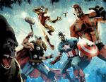 Avengers vs. Atlas no. 1