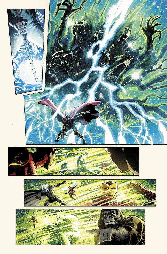 Avengers vs. Atlas no. 2.. by dismang